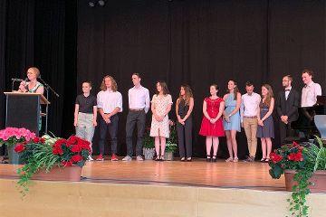 Verabschiedung der Abiturienten 2019
