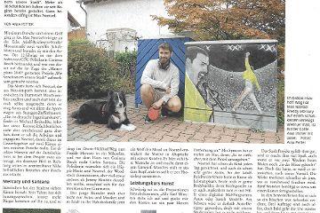 Ehemaliger Schüler der ARS verschönert Stromkästen in Neu-Anspach