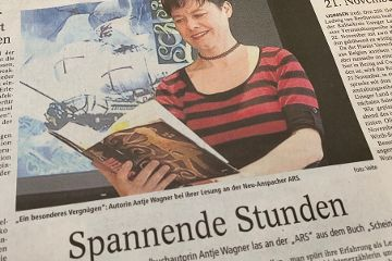 Preisgekrönte Jugendbuchautorin las an der ARS